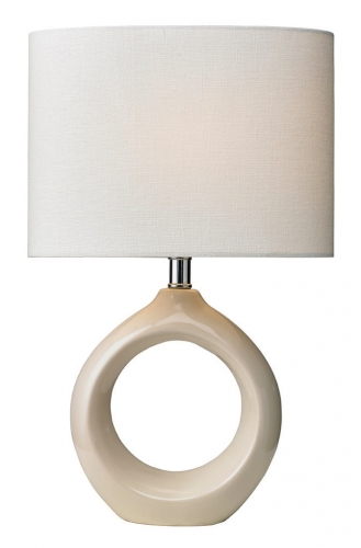 Isla Table Lamp Cream