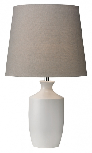 Ernest Table Lamp White