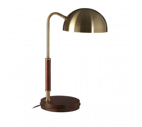 Antique Brass Finish Task Lamp