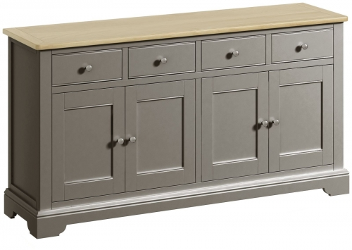 Malham Painted 4 Door Sideboard