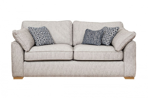 Dexter Fabric 3 Seater Sofa