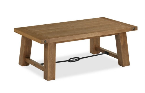 Forge Industrial Oak Coffee Table
