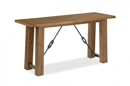 Forge Industrial Oak Console Table
