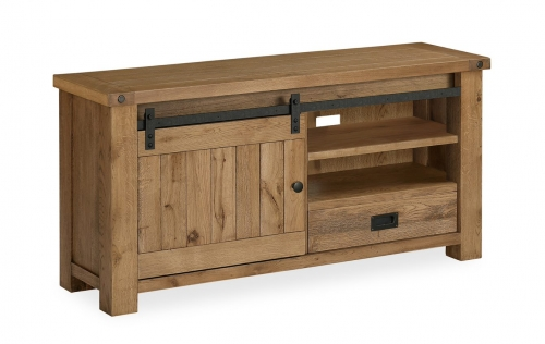 Forge Industrial Oak TV Cabinet