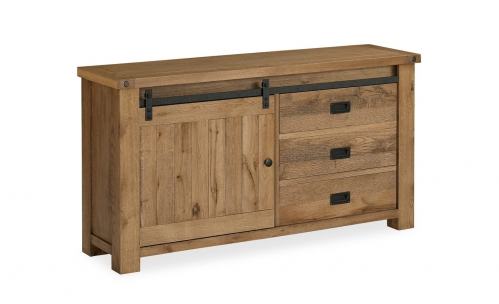Forge Industrial Oak Sideboard