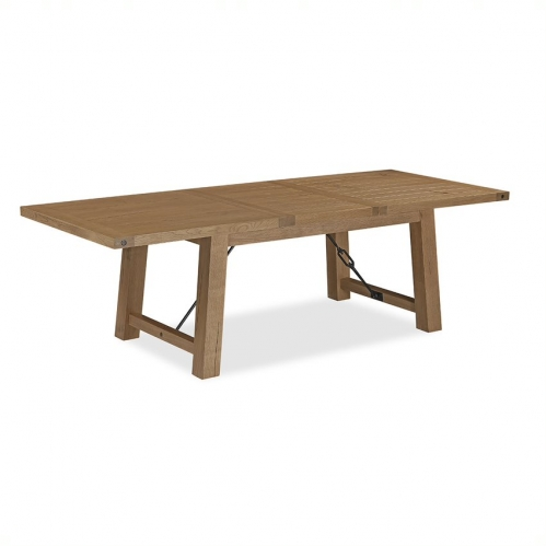 Forge Industrial Oak Extending Table