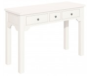 Ascot White Ladies Dressing Table