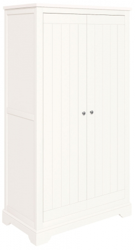 Ascot White Full Hanging Wardrobe