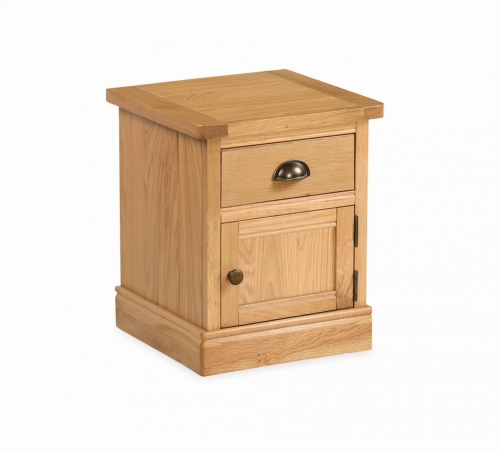 Sherburn 1 Door 1 Drawer Lamp Table