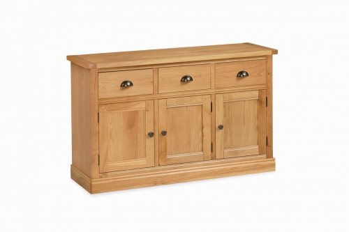 Sherburn Oak Large Sideboard