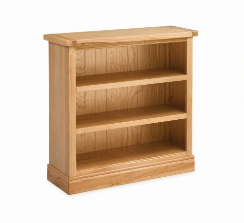 Sherburn Oak Low Bookcase