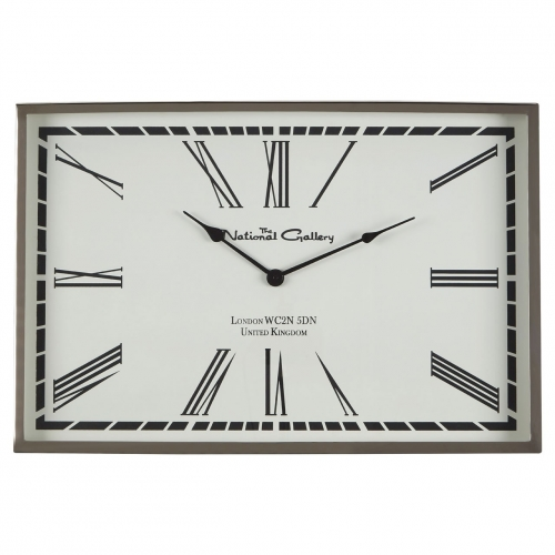 Rectangular Bloomsbury Wall Clock