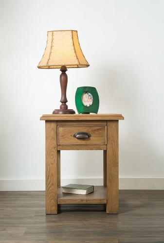 Side tables furniture traders of thirsk farnley solid oak lamp table aloadofball Images