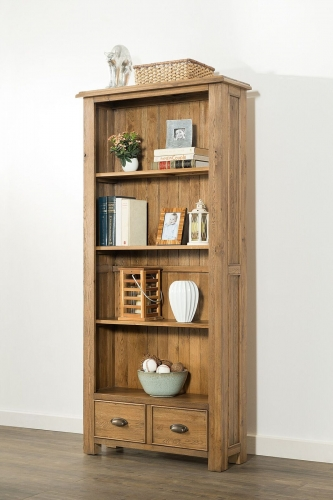 Farnley Solid Oak Bookcase