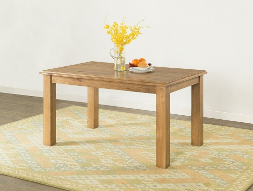 Farnley Solid Oak Fixed Top Dining Table