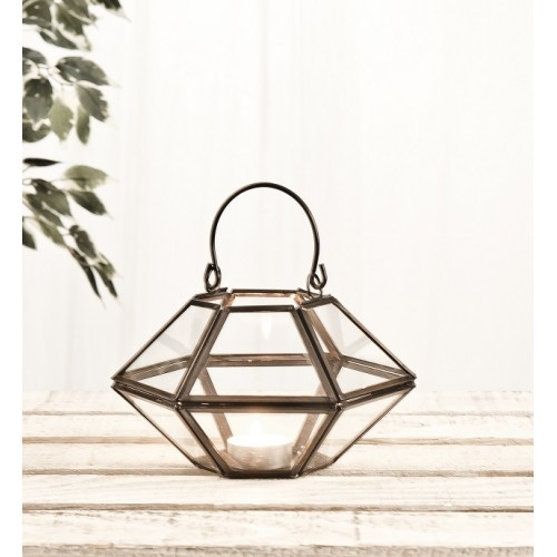 Small Hexagonal Candle Holder