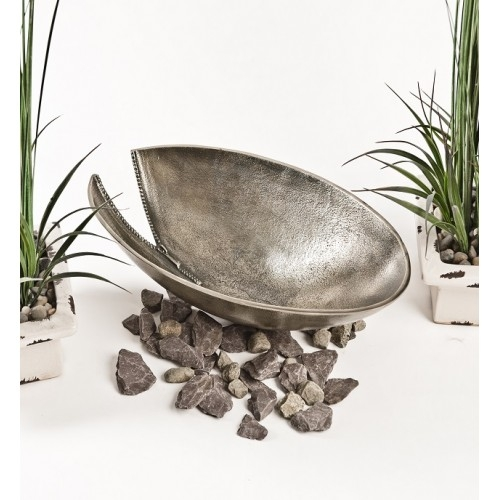 Bronze Zip Round Fruit Bowl