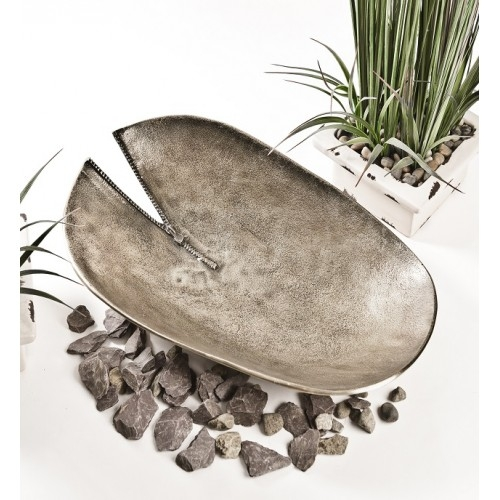Bronze Zip Oval Fruit Bowl