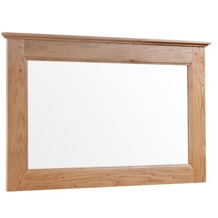 Hebden Solid Oak Large Mirror