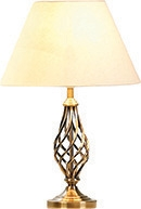 Barley Twist Table Lamp Antique Brass