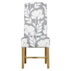 Highgrove Flower Grey Dining Chair