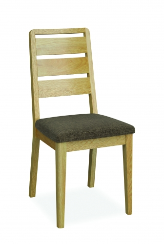 Harome Light Oak Ladder Dining Chair