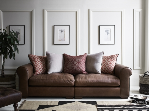 Pemberley Maxi Split Leather Sofa