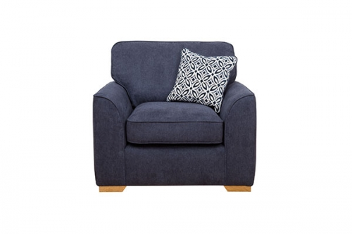 Atlantis Fabric Armchair