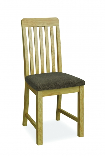 Harome Light Oak Slat Back Dining Chair