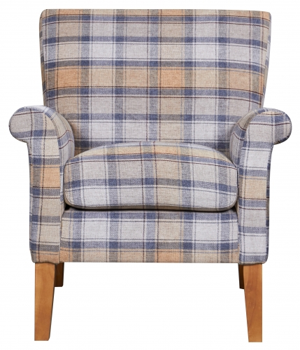 Brandsby Accent Chair - Cornflower