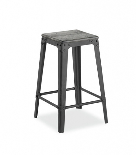 Seattle Industrial Bar Stool