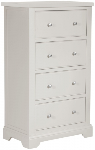 Ascot Painted Grey 4 Drawer Chest