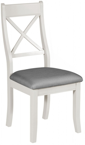 Ascot Painted Grey Bedroom Chair