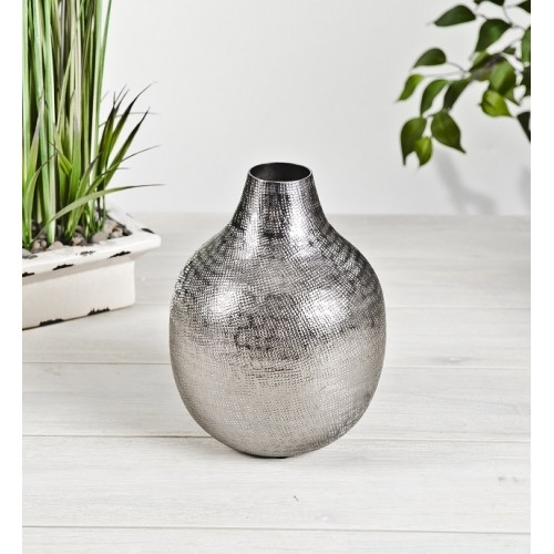 Black Nickle Flower Vase