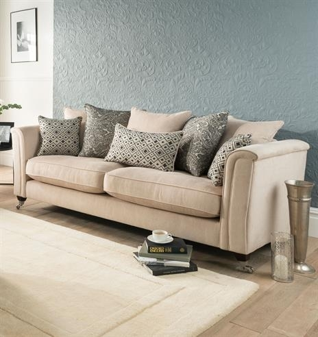 Bentley Fabric Sofa Small