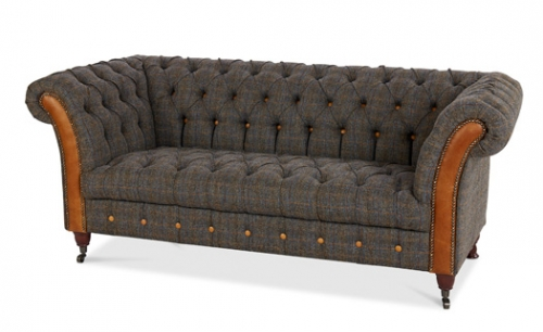 Bretby 3 Seat Leather Sofa