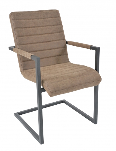 Lockton Industrial Timber Armchair