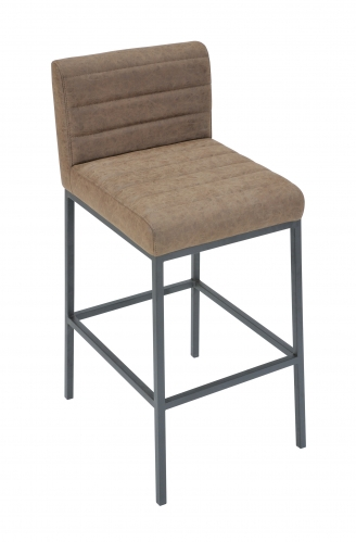 Lockton Industrial Timber Bar Stool