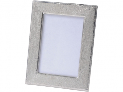 Brushed Silver Aluminium Photo Frame 5x7