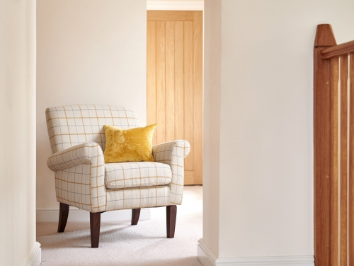 Balmoral Accent Chair - Butterscotch Plaid