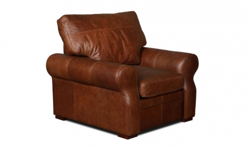 Rhodes Leather Arm Chair
