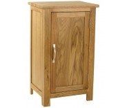 Malvern Oak 1 Door Cupboard