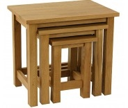 Malvern Oak Nest Of Tables