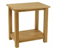 Malvern Oak Lamp Table