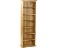 Malvern Oak Large CD Rack