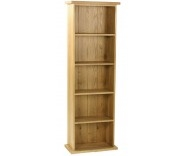 Malvern Oak Large DVD Rack