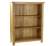 Malvern Oak Low Bookcase