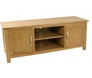 Malvern Oak Large Tv Stand