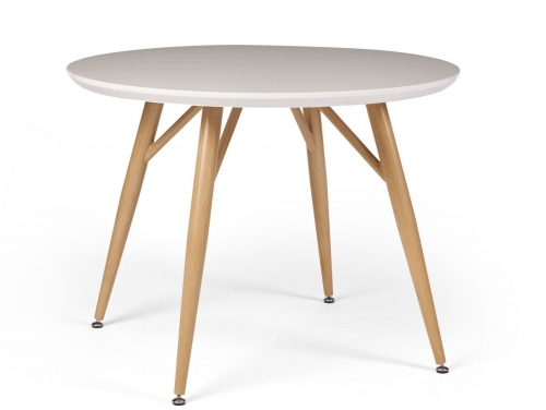 Stockholm High Gloss Round Dining Table