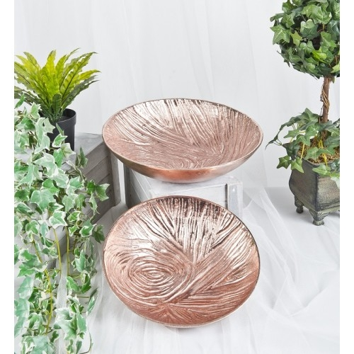 Copper Finish Bowls set of 2